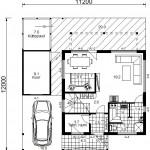 Mini 94 II, I korruse plaan